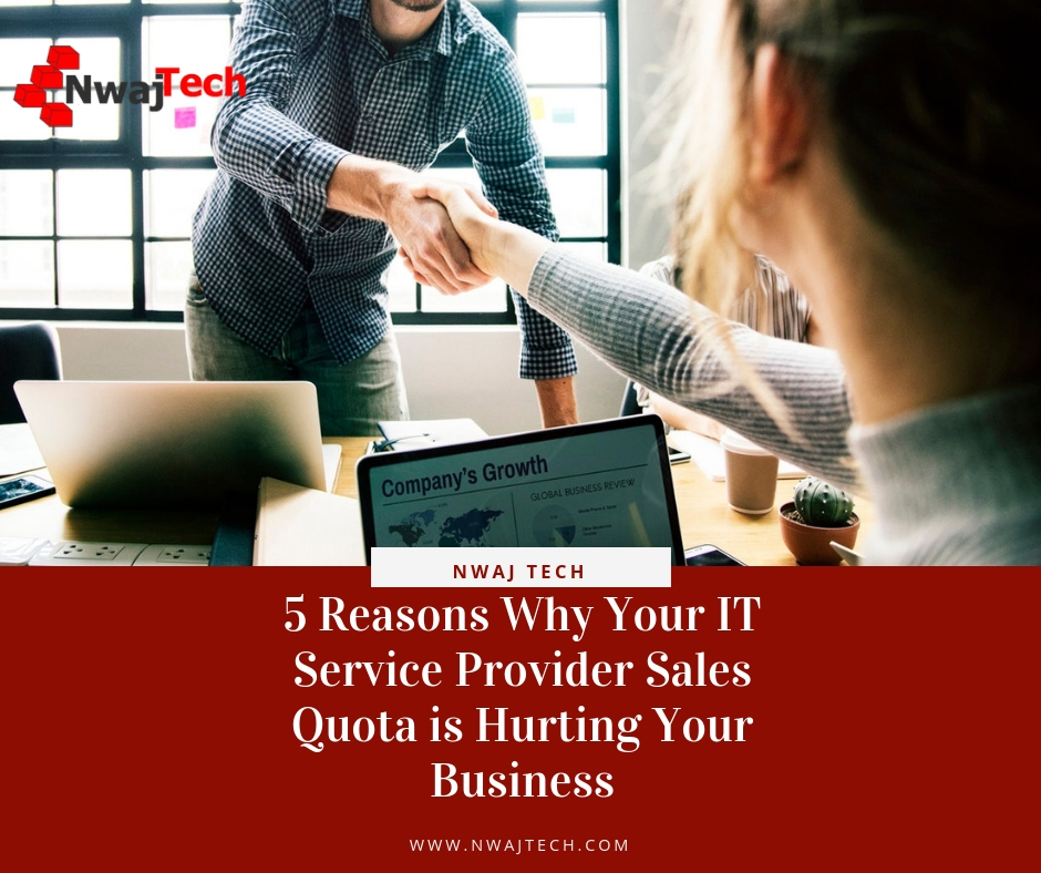 5 Reasons Why Your IT Service Provider Sales Quota is Hurting Your Business FB