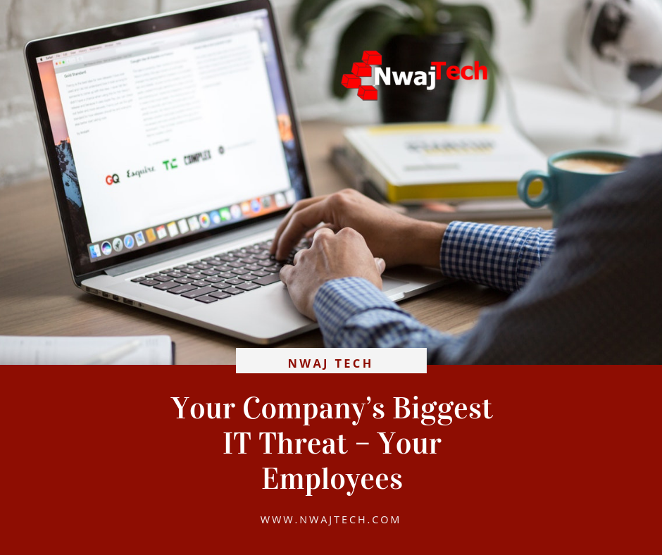 Your Company's Biggest IT Threat – Your Employees
