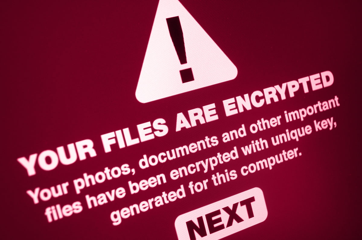 ransomware problem for information technology