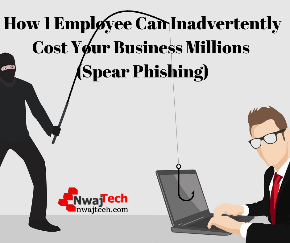 How 1 Employee Can Inadvertently Cost Your Business Millions (Spear Phishing) FB