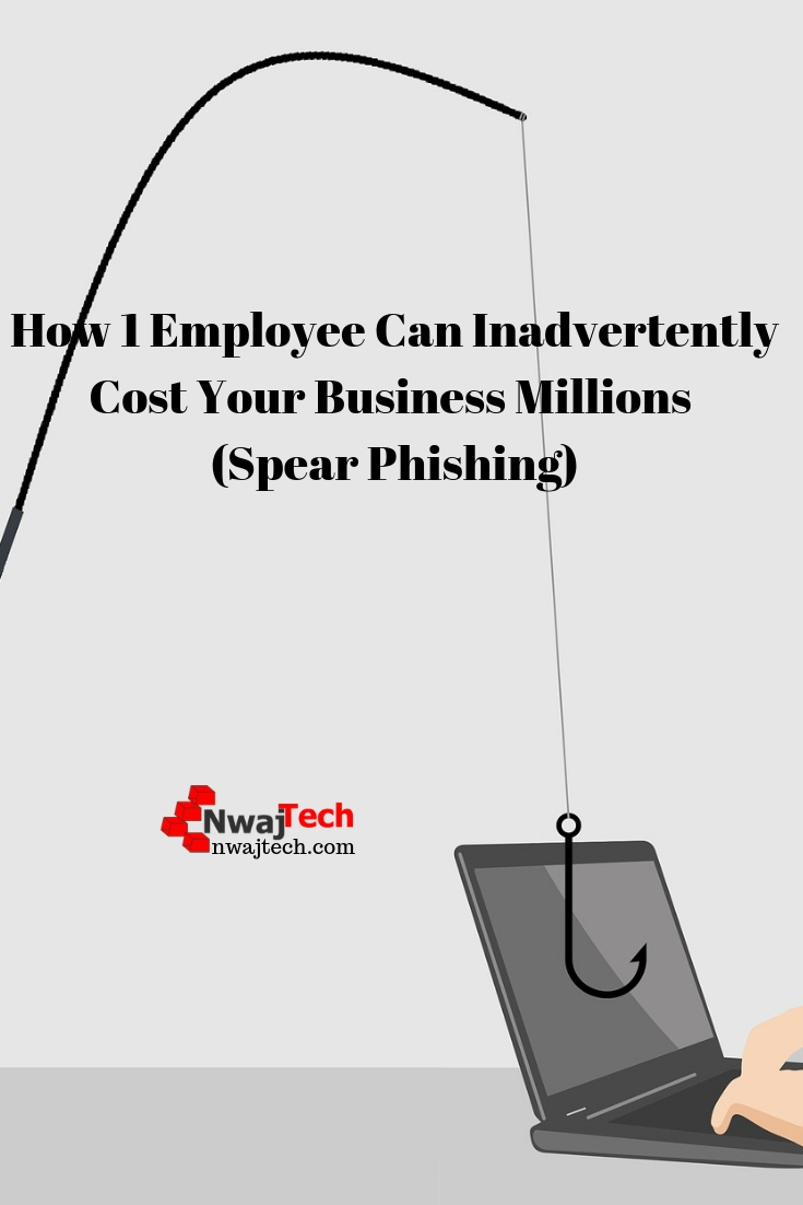 How 1 Employee Can Inadvertently Cost Your Business Millions (Spear Phishing) Pin