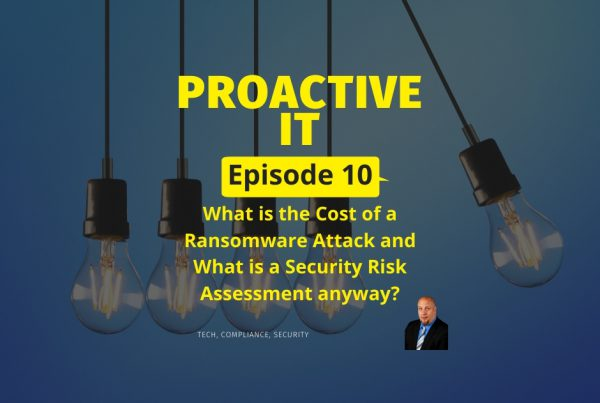What is the Cost of a Ransomware Attack and What is a Security Risk Assessment anyway FB