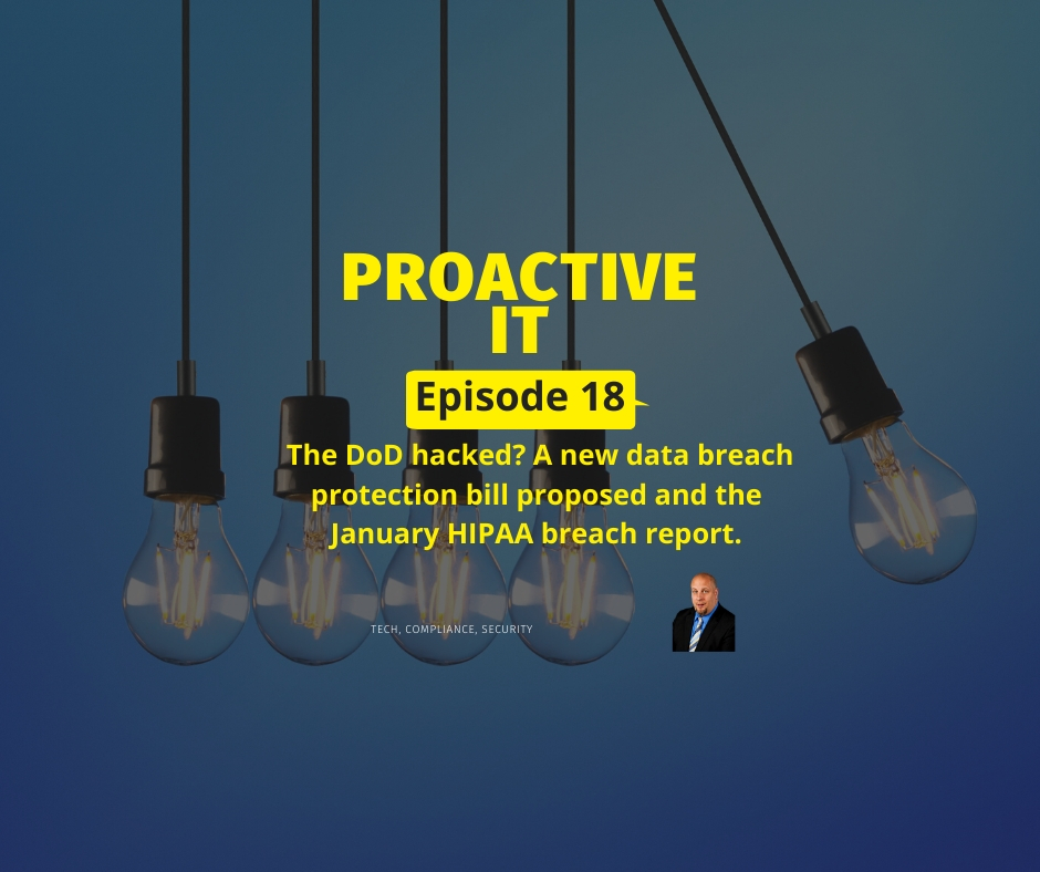 Ep 18 - A New Data Protection Bill Law Proposed FB