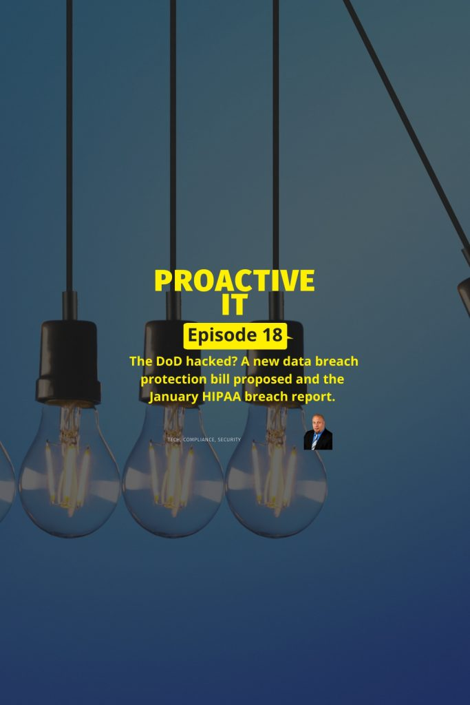 Ep 18 - A New Data Protection Bill Law Proposed PIN