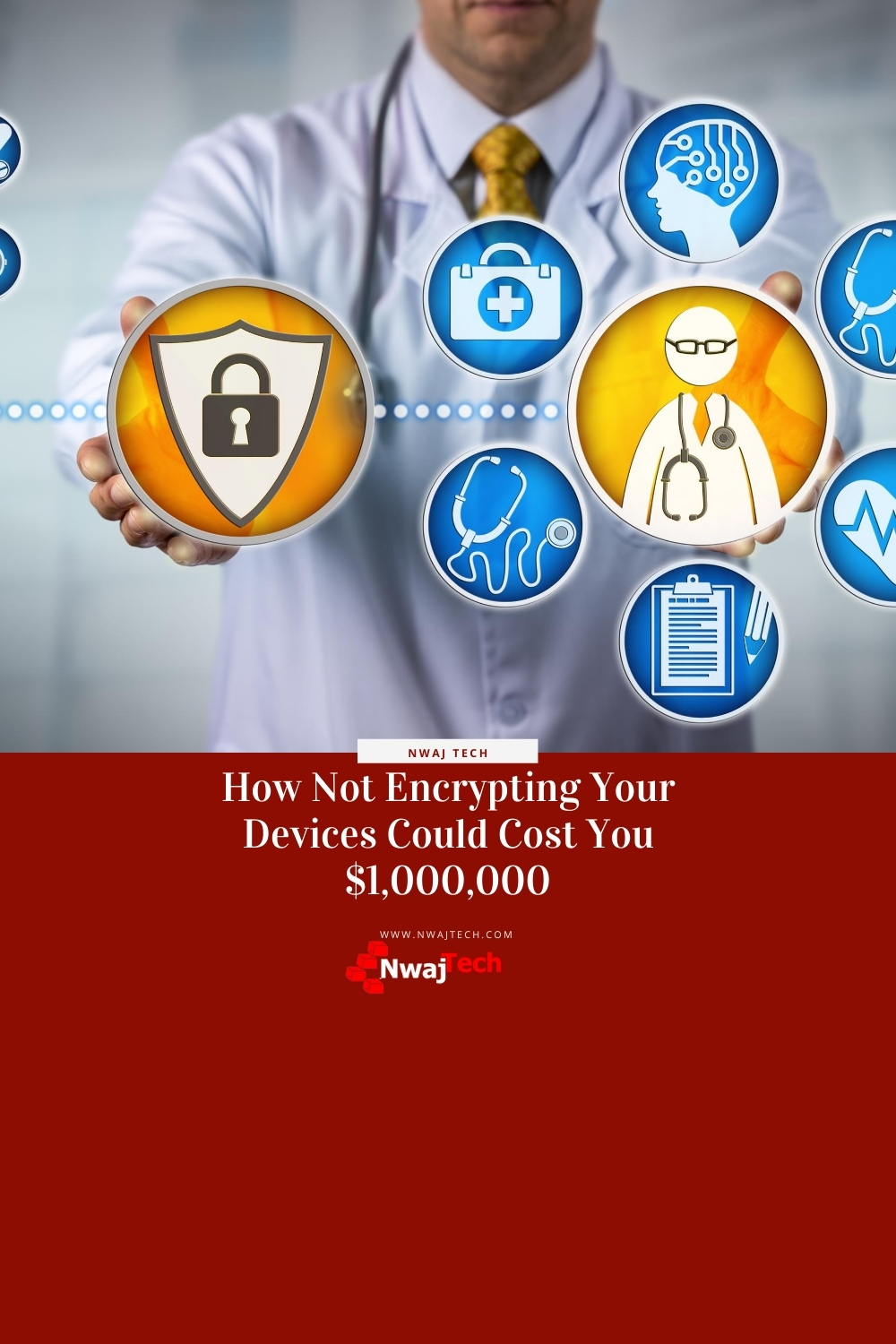 mobile device and laptop encryption to prevent hipaa violations